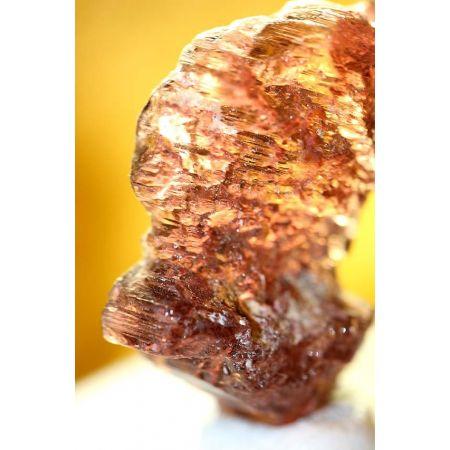 skelettierter bicolor Turmalinkristall, Rubellit