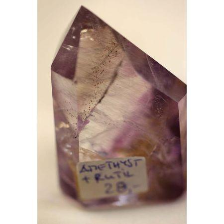 Amethyst+Titanrutil+Phantome