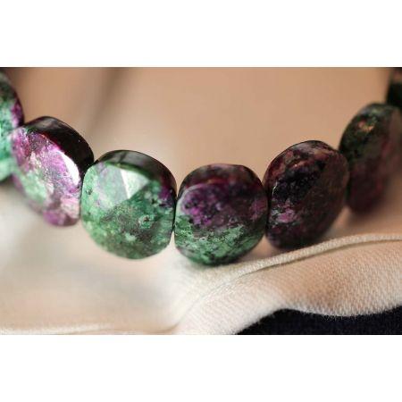 Armband, gefärbter Granit