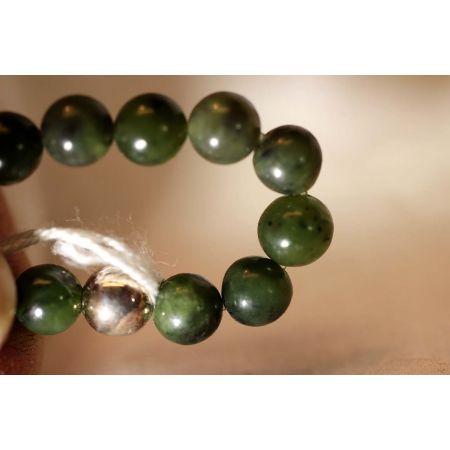 Armband, Jade, grün