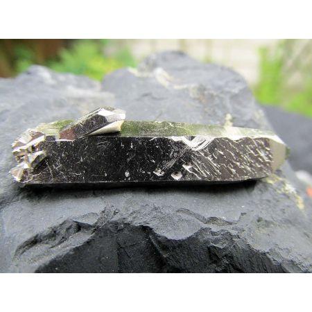 Aura-Argentum(Silber dunkel) BK-Lemuria-Laser-Energiekristall