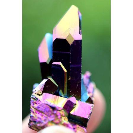 Aura-Titanium, BK-Stufe mit ISIS-Fenster-Energiekristall