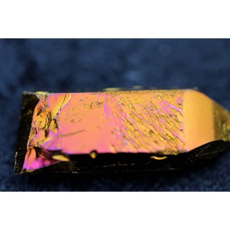 Aura-Titanium(dunkel), BK-Lemuria-Kometen-Energiekristall