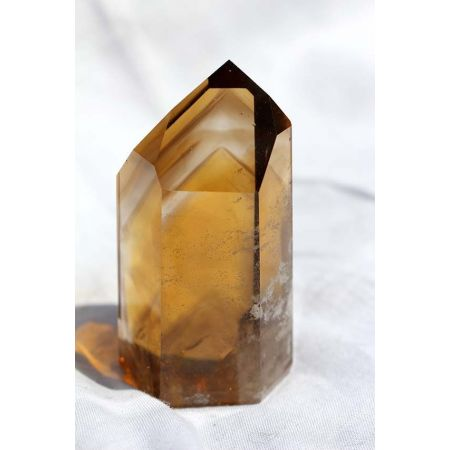Citrin+Fächerphantom-Energiekristall