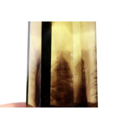 Grünes Gold+Rauchfächerphantome-Energiekristall(male)