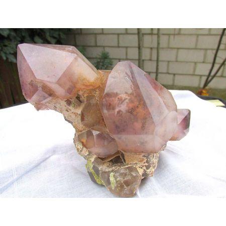 Amethyst-Zepter-Phantom-Energie-Kristallstufe