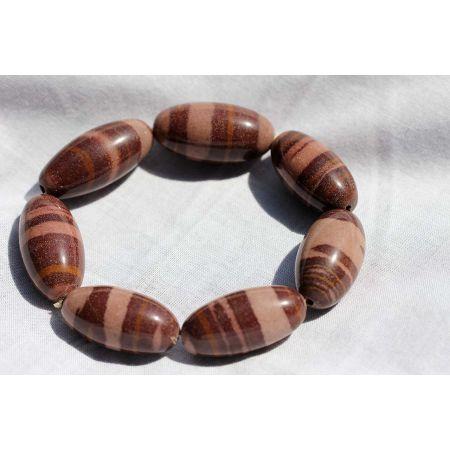 Shiva-Lingam-Energie-Armband