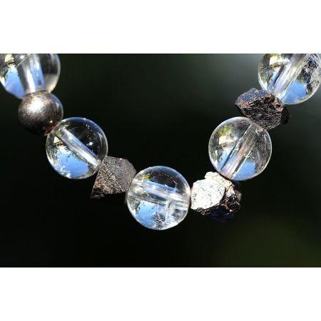 Bergkristall & Magnetit
