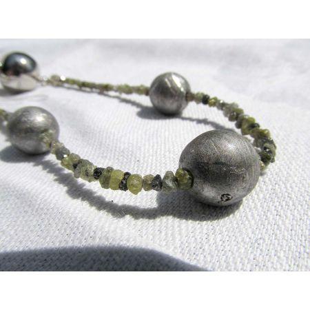 Diamant-Meteorit-Energie-Armband