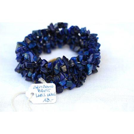 Lapis Lazuli, Armband - breit