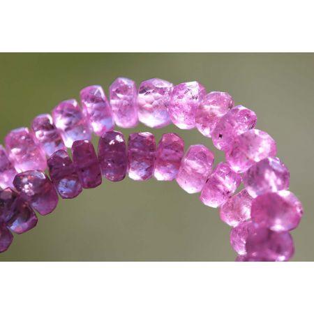 Pink - Saphire - Energie - Kette