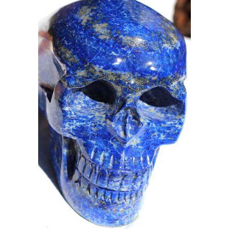 Lapis Lazuli Energie Schädel