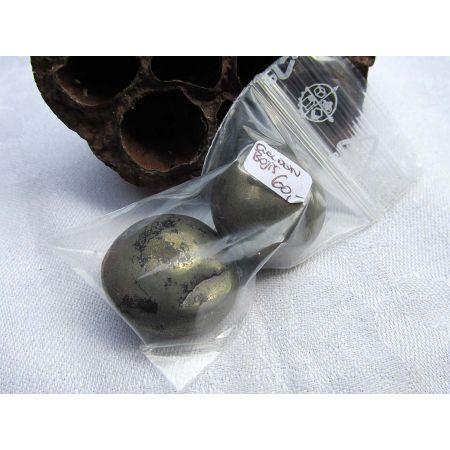 Golden Boji®-Paar Indianischer Schamanen-Energiestein