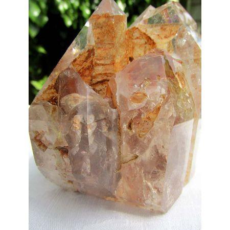 Bergkristallstufe Energie - Kristall