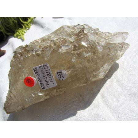 Citrin - Elestial - Doppelender Energie-Kristall