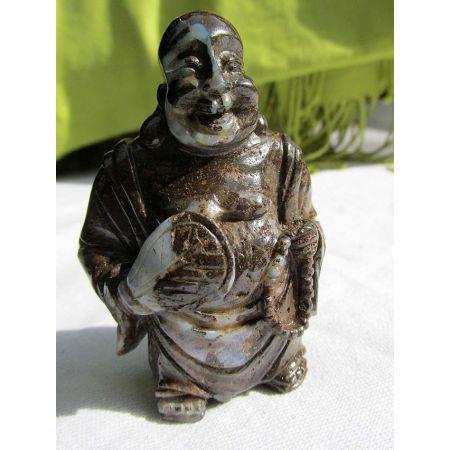 Buddha, sitzend Birma Jade