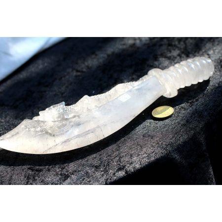 Bergkristall - Drachenschwert