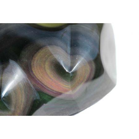 Regenbogenobsidian - Doppelherz
