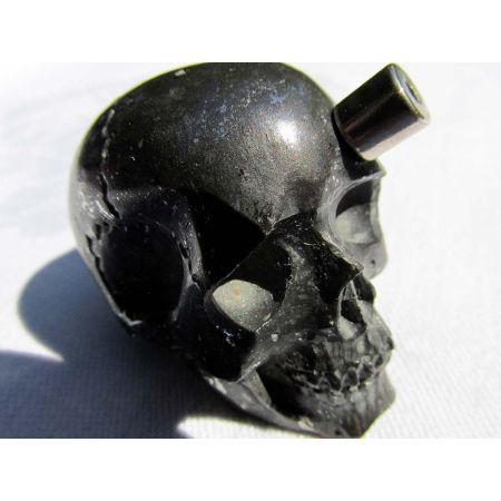 Stein/Eisen - Meteorit - Energie- Schädel (super selten)
