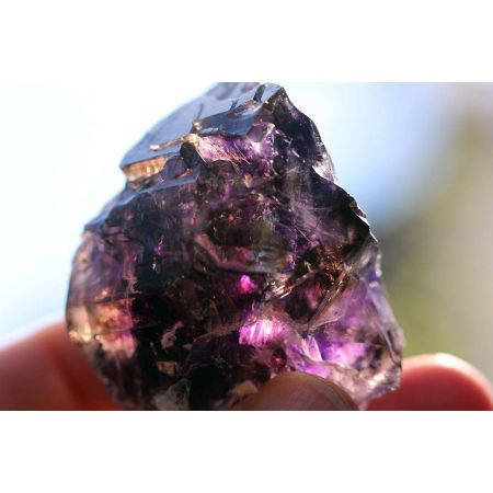 Super Seven-Elestial-mehrf. DOE-Zepter-Energiekristall