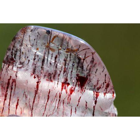 Super Seven-Glattschliff-Energiekristall-Hänger
