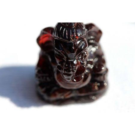 Mini-Granat-Ganesha-Gravur