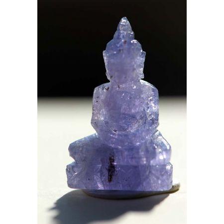 Amitabha-Mini-Tansanit-Buddha-Gravur
