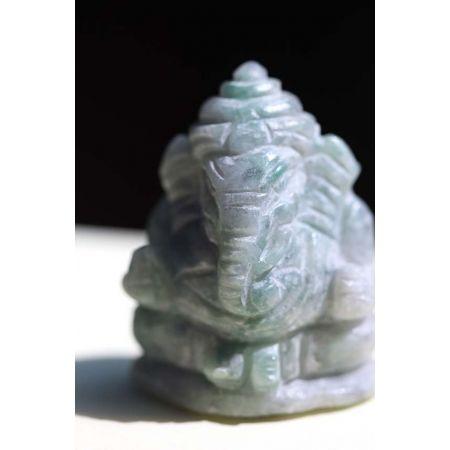Mini-Birma-Jade-Ganesha-Gravur