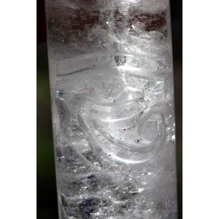 Bergkristall-Energie-Zylinder / Schlüssel zur Weisheit