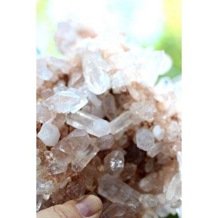 Tibet-Bergkristall-Energie-Stufe