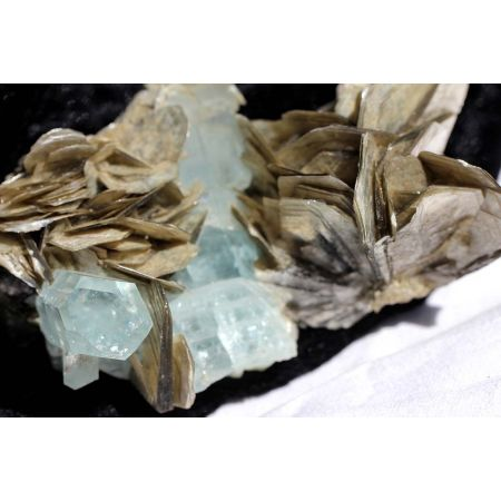 Aquamarin-Kristall-Energiestufe