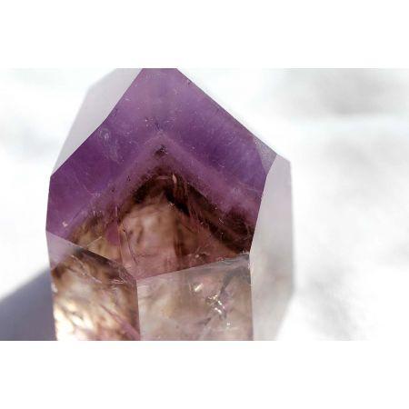 Rauchquarz-Amethyst-Phantom-Energiekristall