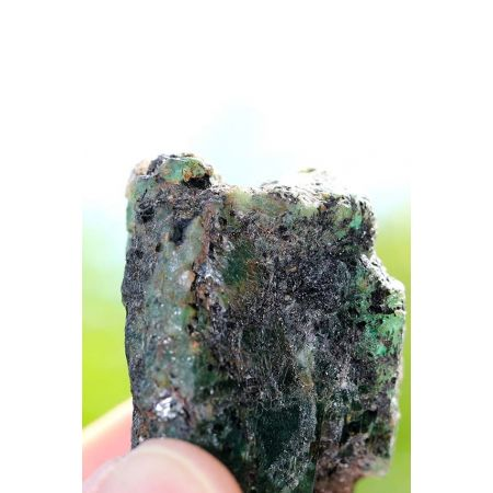 Smaragd-Energiekristall -Stein der Liebe-