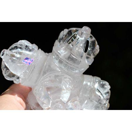 Bergkristall - Triple-Dorje-Energie-Kristall - Schlüssel für die Zukunft