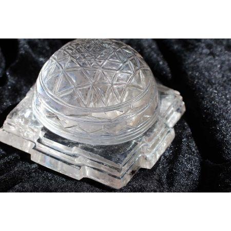 BK-Kuppel-Shree Yantra-Energie-Kristall