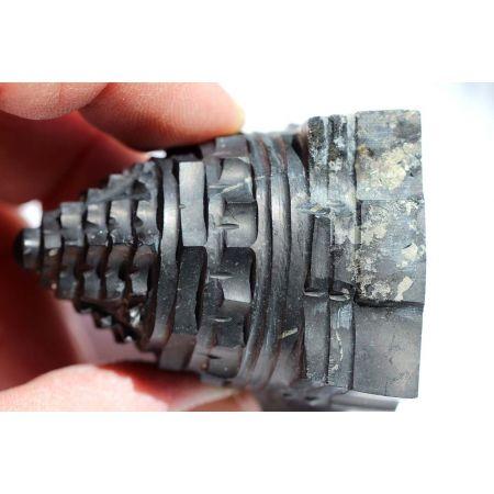 Shungit Shree Yantra-Energie-Kristall