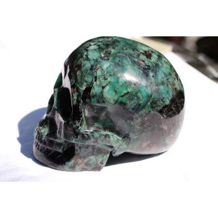 Smaragd - Energie- Schädel