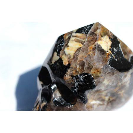 Turmalin schwarz Schörl-Energie-Schädel
