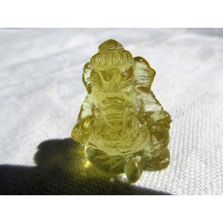 Heliodor-Energie-Ganesha, sitzend