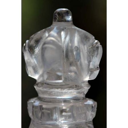 Bergkristall-Energie-Phurba(ind. Ritualdolch)