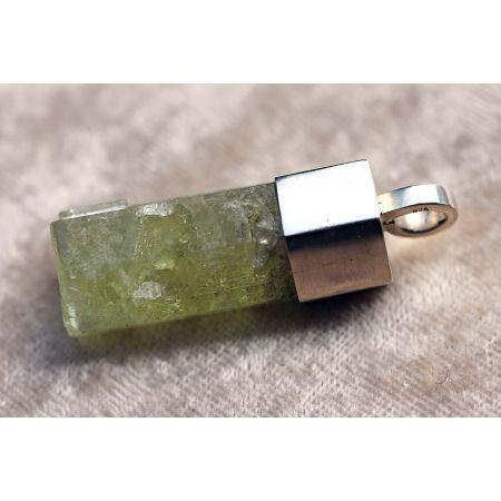 Heliodor-Energie-Kristall-Anhänger