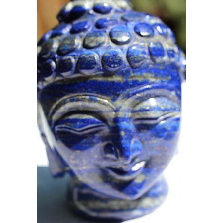 Lapis Lazuli-Buddha-Energiekopf