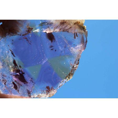Ametrin-Phantom-Energie-Kristallscheibe
