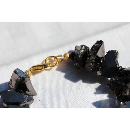 Edelschungit-Energie-Armband