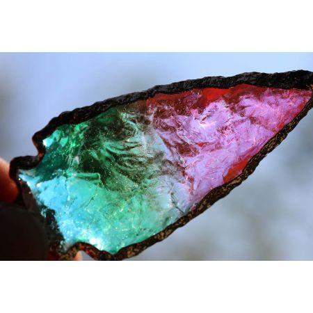Aqua Aura-Energie-Kristallhängerspitze