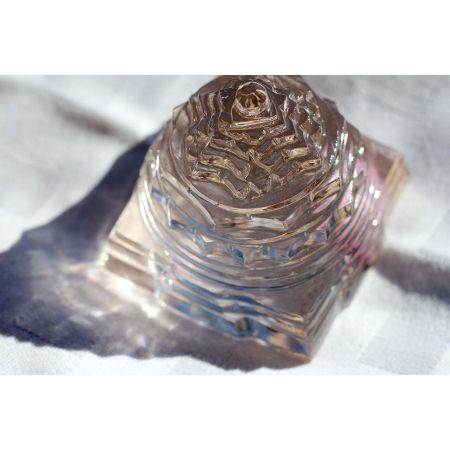 Bergkristall Shree Yantra-Energie-Kristall
