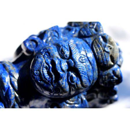 Lapis Lazuli-Energie-Phurba (ind. Ritualdolch)