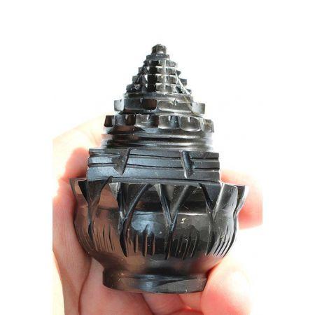 Amethrin-Shree Yantra-Energie-Kristall