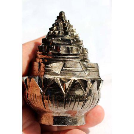Lotus-Granat-Energie Shree Yantra Kristall (Mut zum Leben)