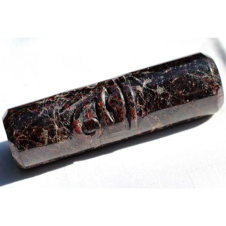 Granat-Energie-Zylinder (Mut zum Leben)